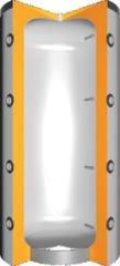 Warmtepomp buffer met 50mm isolatie