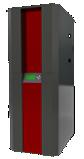 NBE RTB 10 kW ketel met vacuüm-zuigsysteem